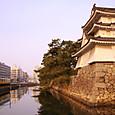 高松城の朝